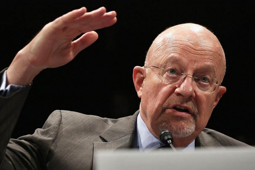 Director of National Intelligence James Clapper testifies during a hearing before the House (Select) Intelligence Committee on Oct 29, 2013 on Capitol Hill in Washington, DC. Mr James Clapper, director of national intelligence, said seeking to d