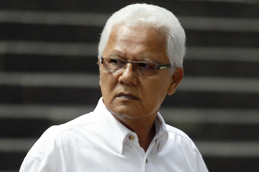 A retired executive of Jurong Town Corporation (JTC), Marzuki Ahmad, 63, was jailed for eight months, on Wednesday, Oct 30, 2013, for accepting $31,500 in bribes from a manager of three foreign worker dormitories some four years ago. -- ST PHOTO