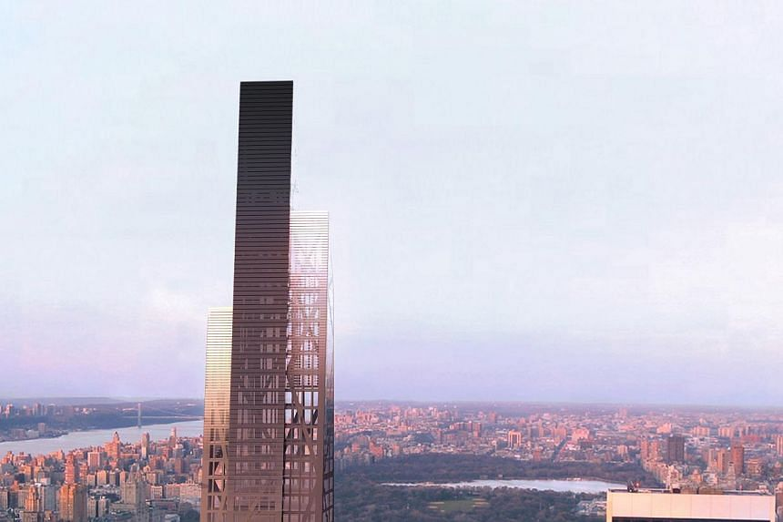 Luxury property developer Pontiac Land has turned its sights on the high-end property market in the United States, with an investment in a swanky condominium project next to the iconic Museum of Modern Art (MoMA) in midtown Manhattan.-- PHOTO: