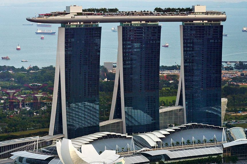 After two years of talks, Marina Bay Sands (MBS) has agreed to open its doors for a union to offer membership to its workers. -- ST FILE PHOTO: ALPHONSUS CHERN
