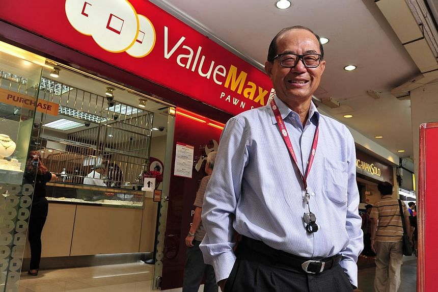 ValueMax chief executive Yeah Hiang Nam. Shares of Singapore pawnbroker ValueMax Group jumped around 17 per cent above its initial public offering price in its trading debut on Wednesday. -- ST FILE PHOTO: DIOS VINCOY JR FOR THE STRAITS TIMES