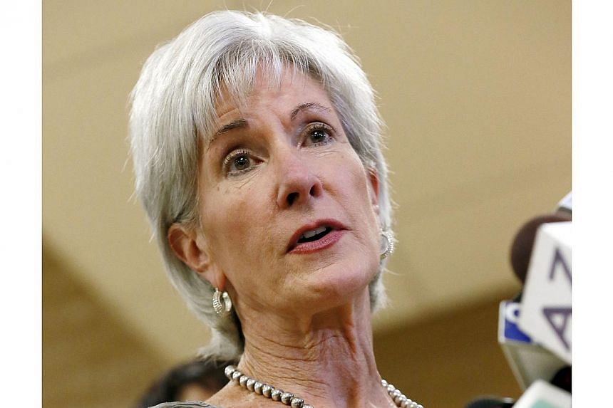 In this Oct 24, 2013 file photo, Health and Human Services Secretary Kathleen Sebelius speaks in Phoenix. Ms Sebelius will issue a trenchant defence of Obamacare on Wednesday, defying critics who have savaged the White House over how the reforms were