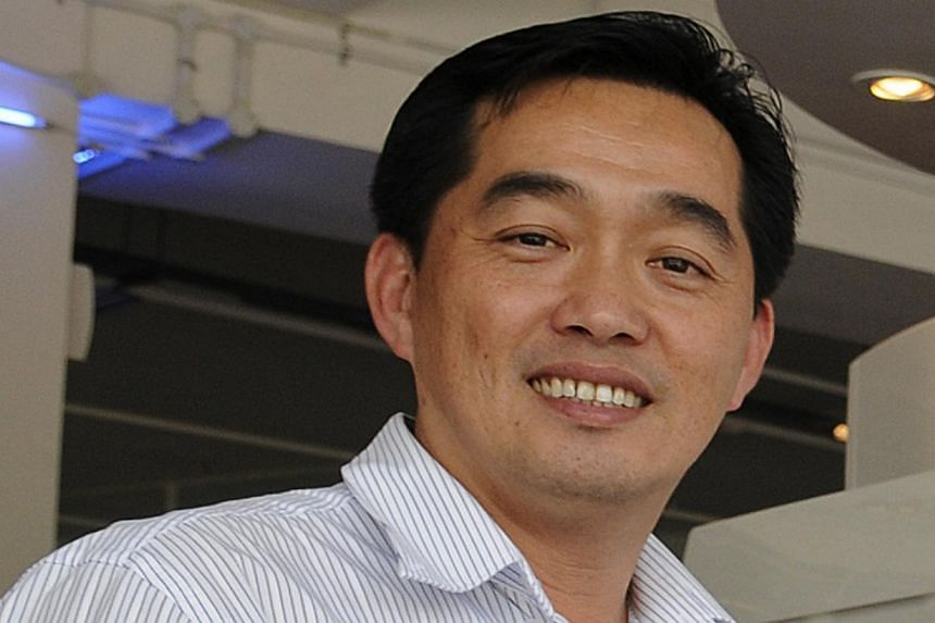 CEO Ang Choon Cheng of Natural Cool Holdings. An act of desperation has felled the top executive of a mainboard-listed company. -- ST FILE PHOTO: AIDAH RAUF