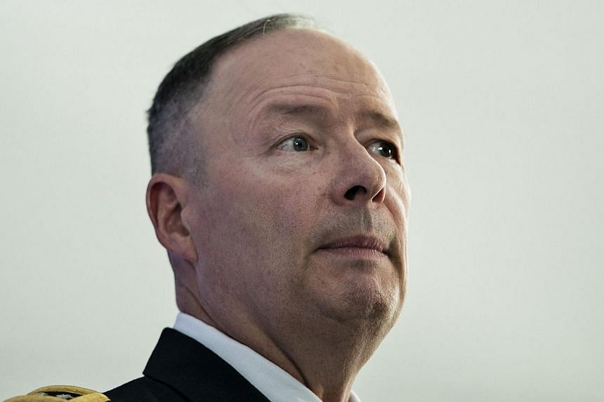 General Keith Alexander, Director of the National Security Agency and Commander of the US Cyber Command, speaks during a discussion at the Reagan Building, on Oct 30, 2013 in Washington, DC. The chief of the National Security Agency (NSA) said on Wed