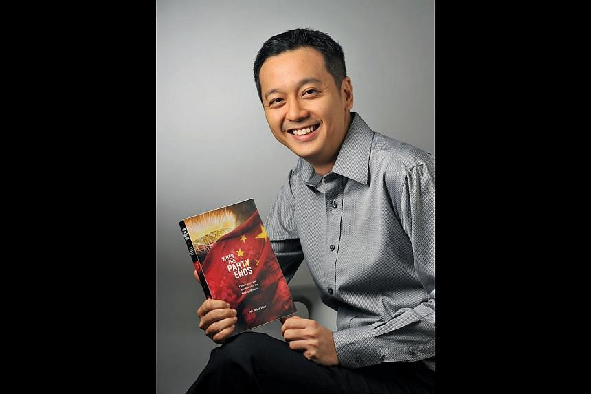 Journalist Peh Shing Huei's book will be launched tomorrow at the Singapore Writers Festival. -- PHOTO: LIM YAOHUI FOR THE STRAITS TIMES