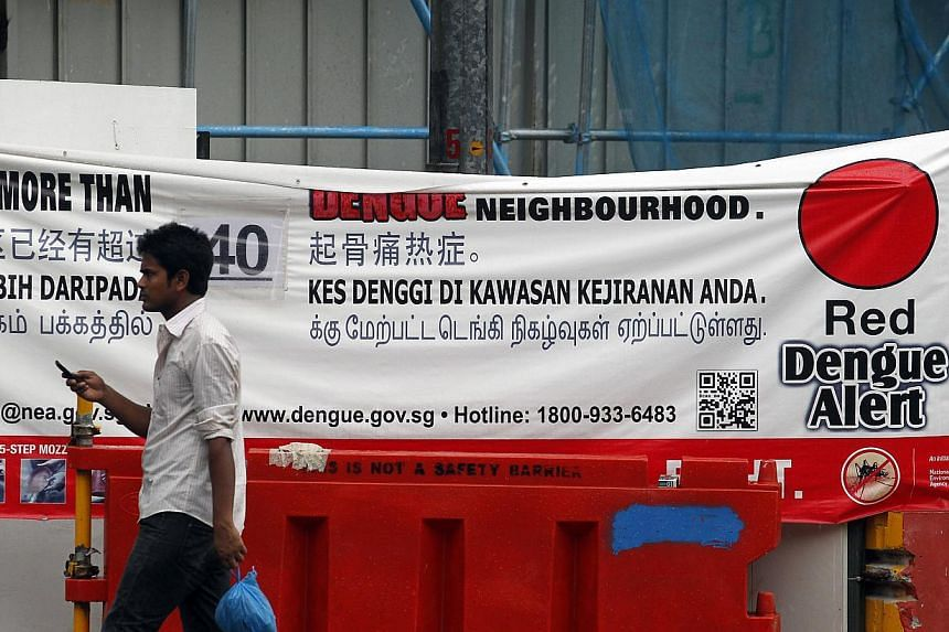 The dengue cluster at Orchard Road has grown to 56 people infected, making it the fourth largest cluster in the country today. The number of people infected with dengue in Orchard Road has more than tripled to 64 in the past fortnight, making it the