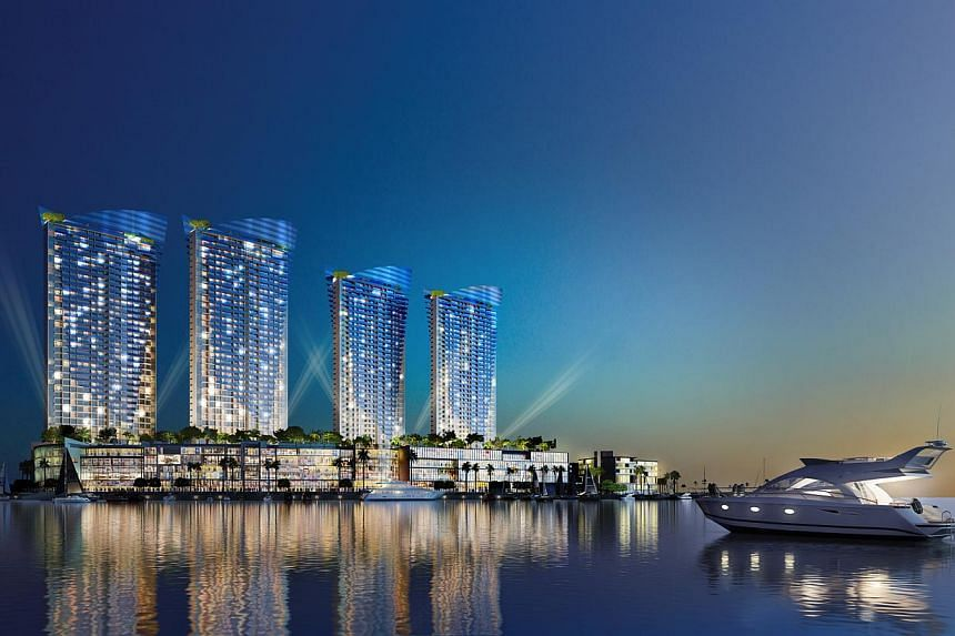 An artist's impression of Brunsfield Iskandar Waterfront (BIW) at the new Danga Bay Waterfront in Johor.Iskandar Waterfront Holdings, a Malaysian property developer focused on the southern state of Johor, has postponed an up to US$300 million (