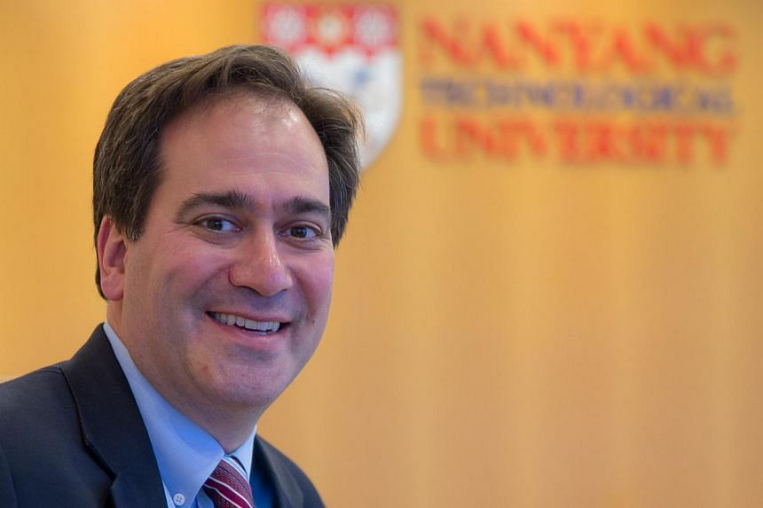 Prof Chad Mirkin, Chair of the new Nanomedicine Institute. -- PHOTO: Nanyang Technological University