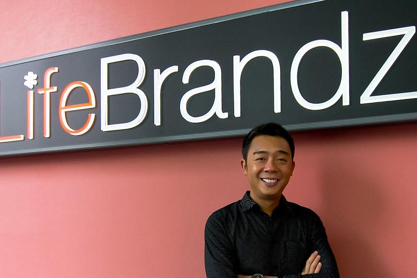 Mr Bernard Lim Miang, the chief executive officer of lifestyle and entertainment group Lifebrandz, is stepping down from the role to pursue his own interests. -- FILE PHOTO: LIFEBRANDZ