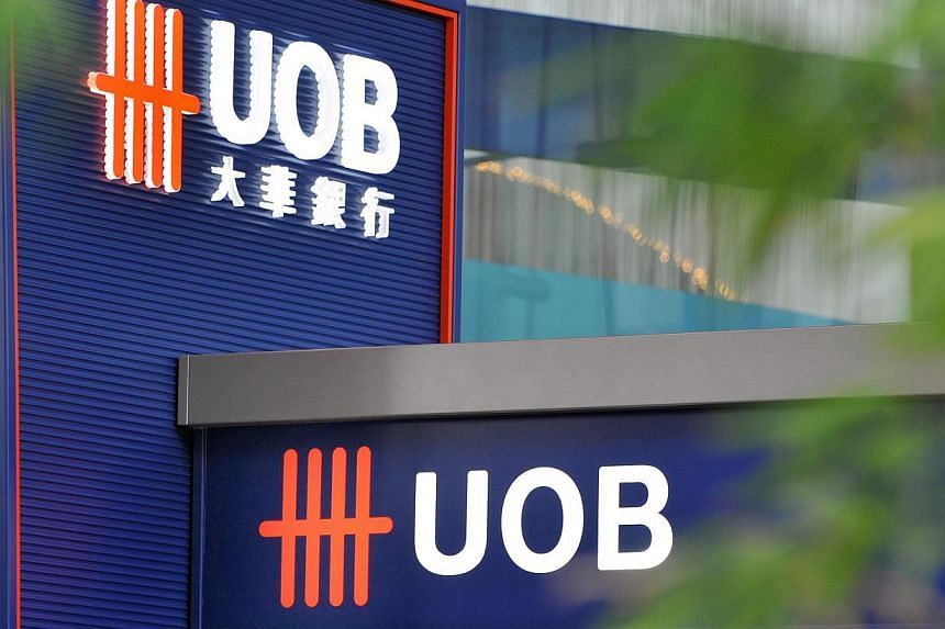 United Overseas Bank turned in a net profit of $730 million in the third quarter compared with a year ago, it said on Tuesday, Nov 5, 2013. -- BT FILE PHOTO: ARTHUR LEE CH