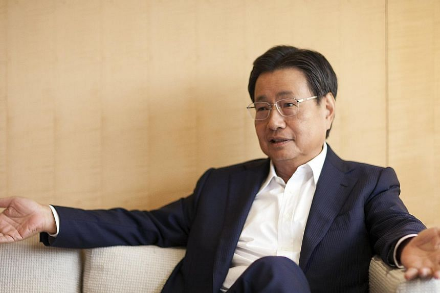 Temasek Holdings has appointed Wing Tai Holdings chairman and managing director Cheng Wai Keung (in photo) as its deputy chairman with effect from Monday Nov 4. -- PHOTO: WING TAI HOLDINGS LIMITED