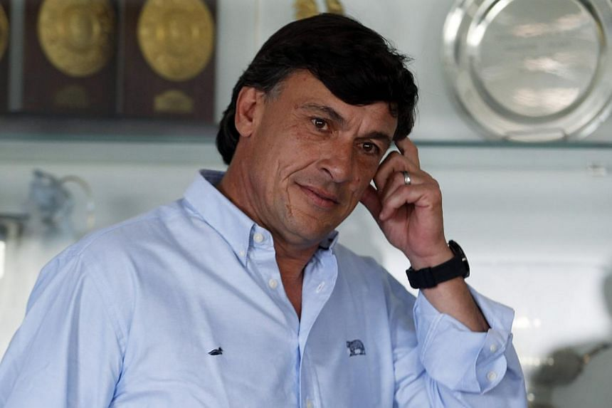 Argentina will not be afraid to take risks and go on the offensive against England when the teams clash at Twickenham on Saturday, said new coach Daniel Hourcade (above) on Tuesday, Nov 5, 2013. -- FILE PHOTO: REUTERS