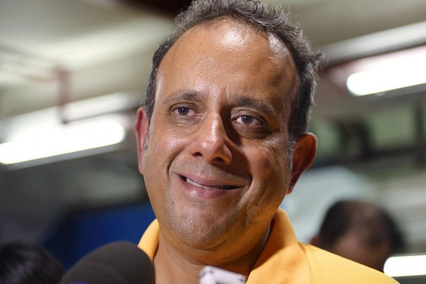 Reform Party's (RP) Kenneth Jeyaretnam speaking to the press at Rivervale Plaza on Jan 15, 2013, to officially announce that he will be contesting the Punggol East Single Member Constituency (SMC) by-election. The Court of Appeal has upheld the High