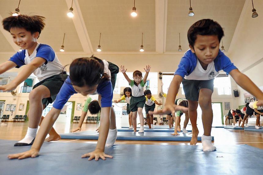 From next year, the National Physical Fitness Award (Napfa) will be conducted for students on alternate years, instead of annually. This will allow schools to conduct a wider range of physical activities during physical education lessons. -- ST FILE