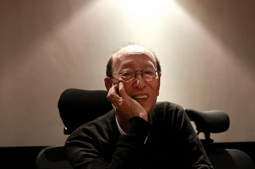 The living giant of Japanese theatre, legendary director Yukio Ninagawa (above) is back in Singapore for the first time in more than 20 years to present the samurai action-comedy Musashi at the Esplanade Theatre on Nov 8 and 9. -- ST PHOTO:&nbsp