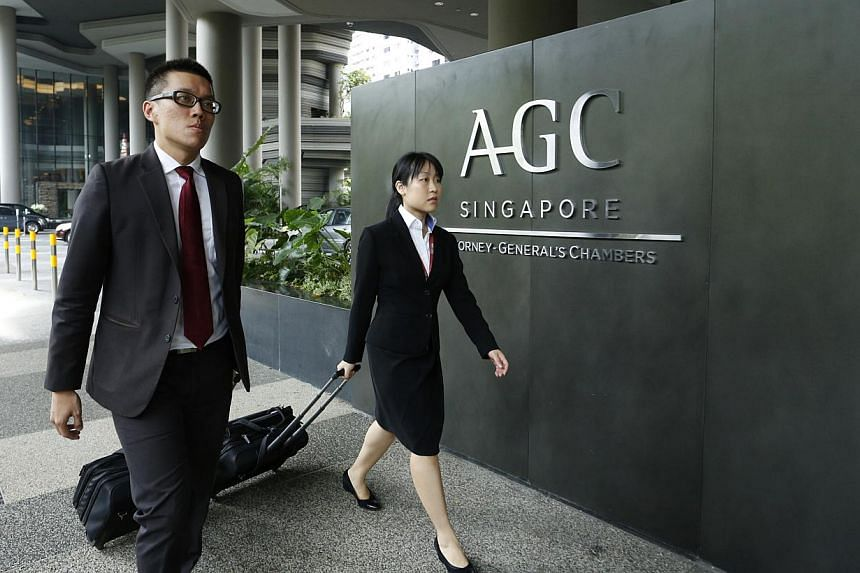 A project by the Attorney-General's Chambers (AGC) is underway to simplify almost 6,000 laws here and make them more accessible to the public. -- ST FILE PHOTO: DESMOND LUI FOR ST
