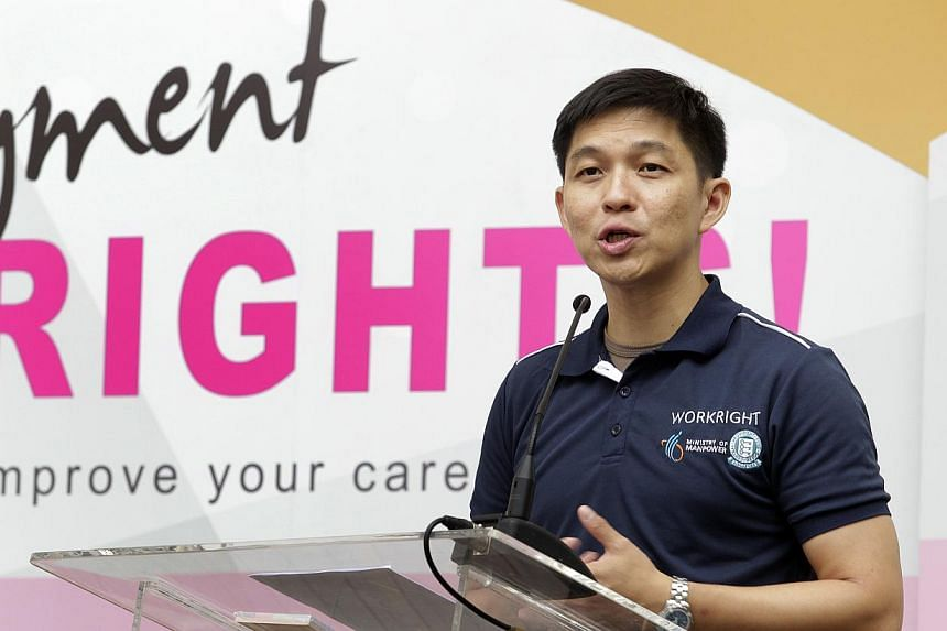 More than 22,000 Singaporean workers have been assisted in recovering late salary payments, Central Provident Fund contributions and overtime allowances over the past year, said Acting Manpower Minister Tan Chuan-Jin (above) at the inaugural WorkRigh