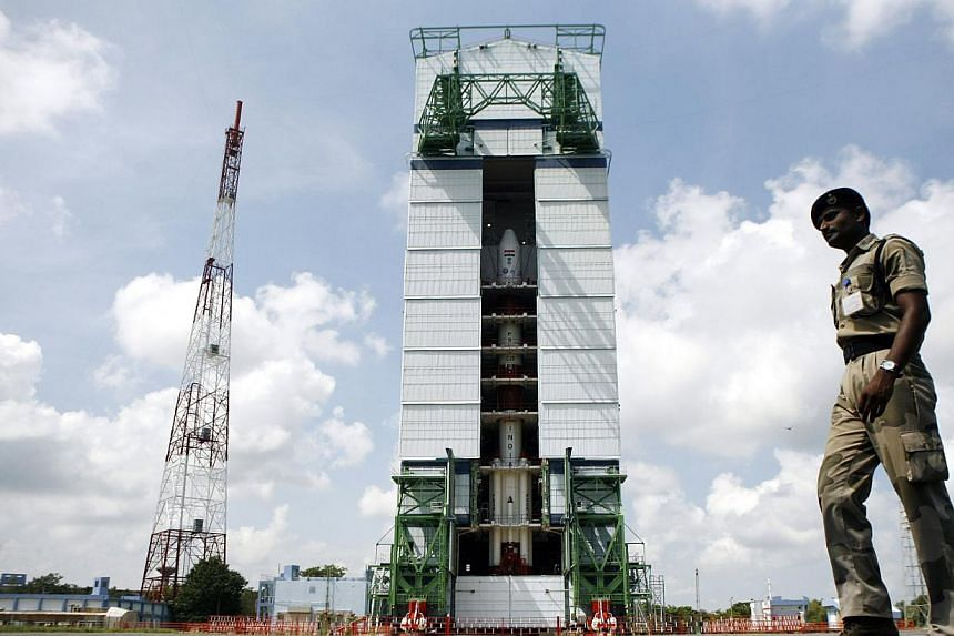 India's Mars orbiter mission was launched by the Polar Satellite Launch Vehicle (PSLV-C25) at the Satish Dhawan Space Center at Sriharikota, in the southern Indian state of Andhra Pradesh.