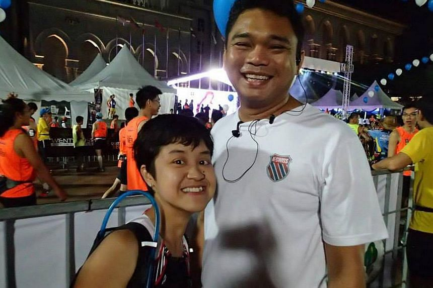 Ms Nora Ismail, 36, and Mr Juhari Karim, 37, will run a combined distance of 750km next year in several marathons to raise money for the Diabetic Society of Singapore, under the banner of Team Athletes with Diabetes.