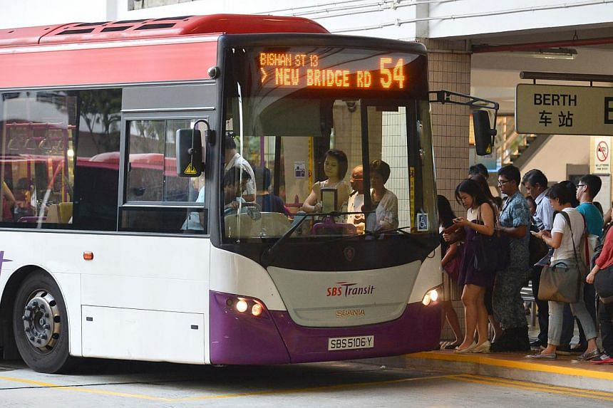 Any change to public transport fares is set to take place only in the first half of next year, Transport Minister Lui Tuck Yew said on Monday. -- ST FILE PHOTO: ASHLEIGH SIM