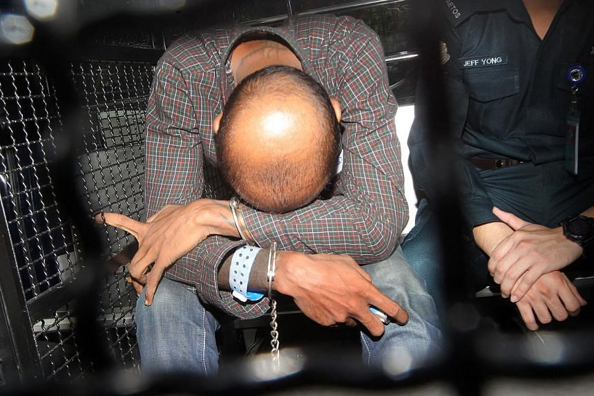 James Raj Arokiasamy (above), the alleged hacker who goes by the moniker 'The Messiah',was arrested in a Kuala Lumpur apartment on Nov 4.Hewill be remanded at the Institute of Mental Health for psychiatric evaluation, the court