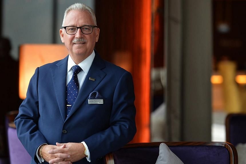 Mr Lance Ourednik, the general manager of The Westin Singapore. -- ST PHOTO: CAROLINE CHIA