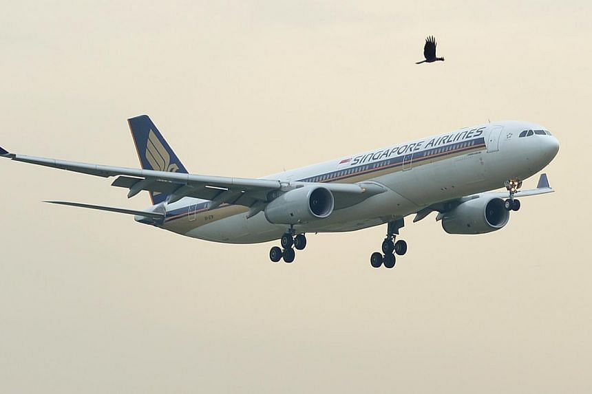 Travellers flying Singapore Airlines and SilkAir will enjoy higher baggage allowance across all classes from Nov 15. -- ST FILE PHOTO: MUGILAN RAJASEGERAN