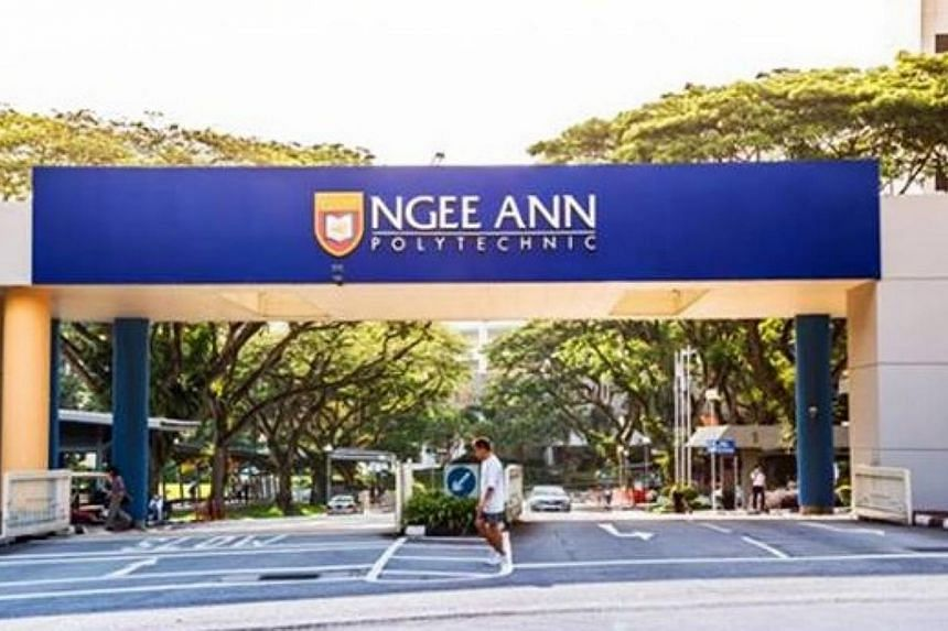 A $7.1 million contribution was given to Ngee Ann Polytechnic from the Ngee Ann Kongsi. -- PHOTO: FACEBOOK PAGE OF NGEE ANN POLYTECHNIC