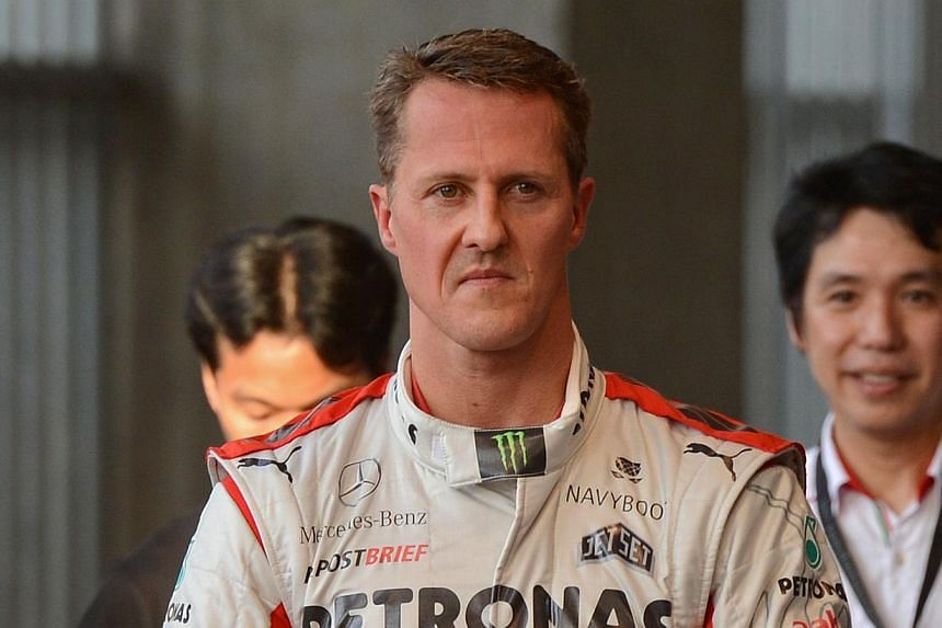 Lotus approached Michael Schumacher about making a possible Formula One comeback in the last two races of the season but the retired seven-time world champion made it clear he was not interested. -- PHOTO: AFP