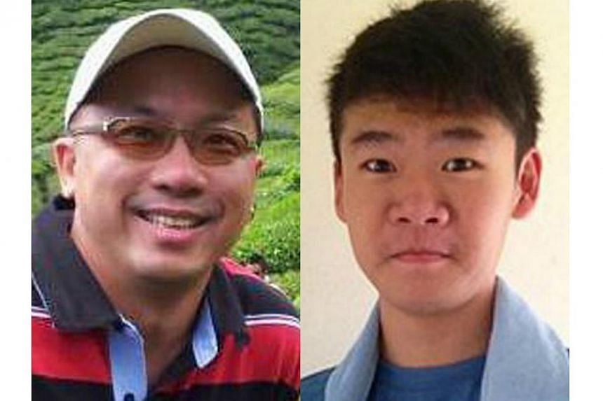 Student Melvin Teo (right) and businessman Delson Moo are not connected to alleged hacker James Raj Arokiasamy. Melvin and Mr Teo were not arrested but continue to assist with investigations into the Istana hacking. Both are believed to be Facebook f