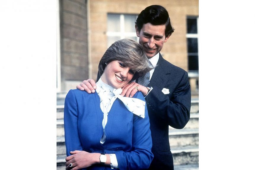 Prince Charles and Lady Diana pose following the announcement of their engagement on Feb 24, 1981 . Prince Charles is readying the paperwork to claim his pension when he turns 65 on Thursday, Nov 14, 2013, but he still hasn't started the job he