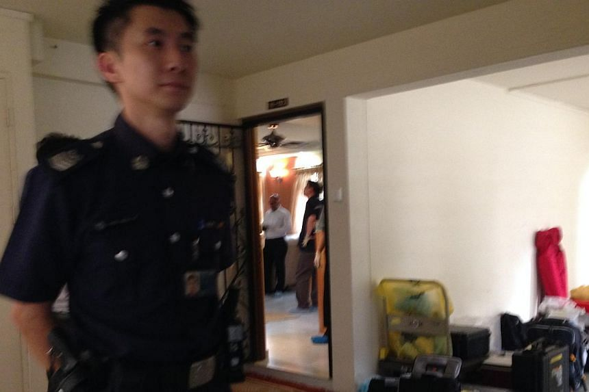 The police are now investigating the death of a 16-year-old girl as a murder.A spokesman said the police received a call for assistance at 12.57pm and officers arrived only to find the girl lying motionless in a bedroom of the 10th floor HDB un