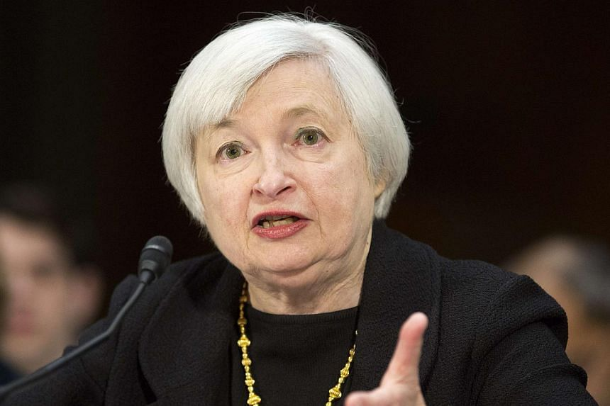 Ms Janet Yellen (above), who is slated to replace Ben Bernanke as Federal Reservechief early next year, made clear in comments on Thursday, Nov 14, 2013, that she is prepared to stand by the central bank's extraordinary efforts to pump up the w
