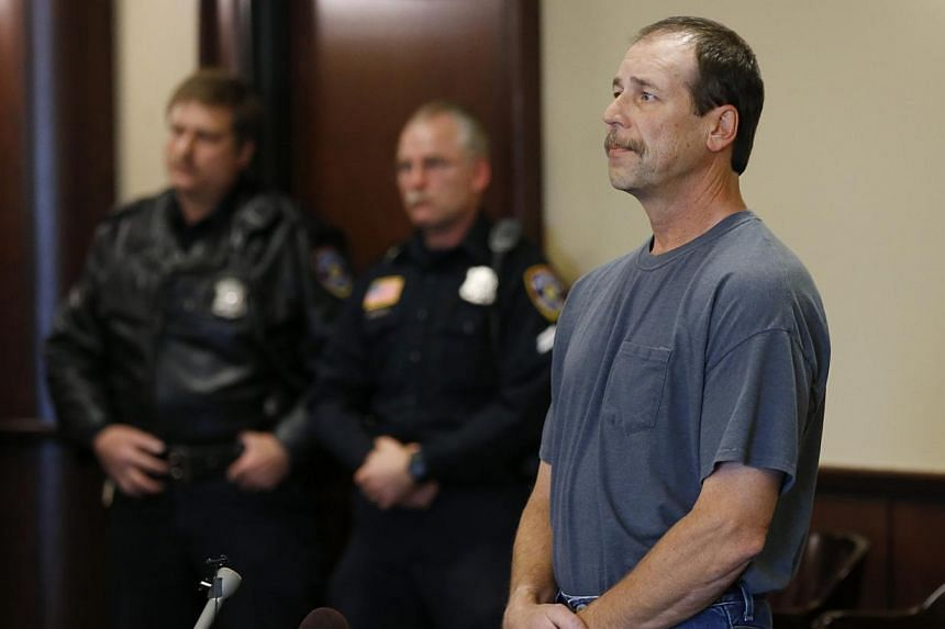 Theodore P. Wafer, 54, of Dearborn Heights, appears at his arraignment in 20th District Court in Deaborn Heights, Michigan, on Friday, Nov 15, 2013. Wafer faces second-degree murder and manslaughter charges in the death of 19-year-old Renisha McBride