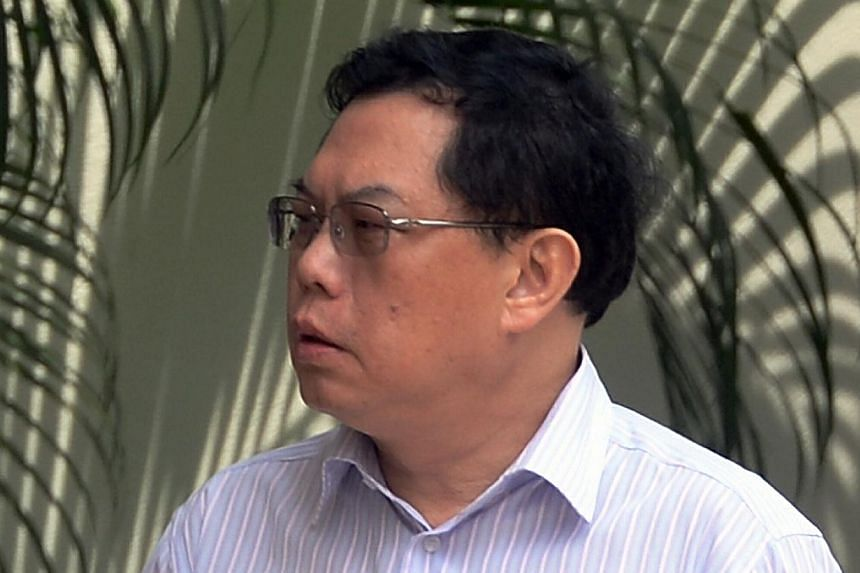Tan Boon Yeow, a58-year-old cabby, was fined $12,000 and banned from driving for six years after negligently causing the death of a passenger on Tuesday, 19 Nov, 2013. -- PHOTO: ST