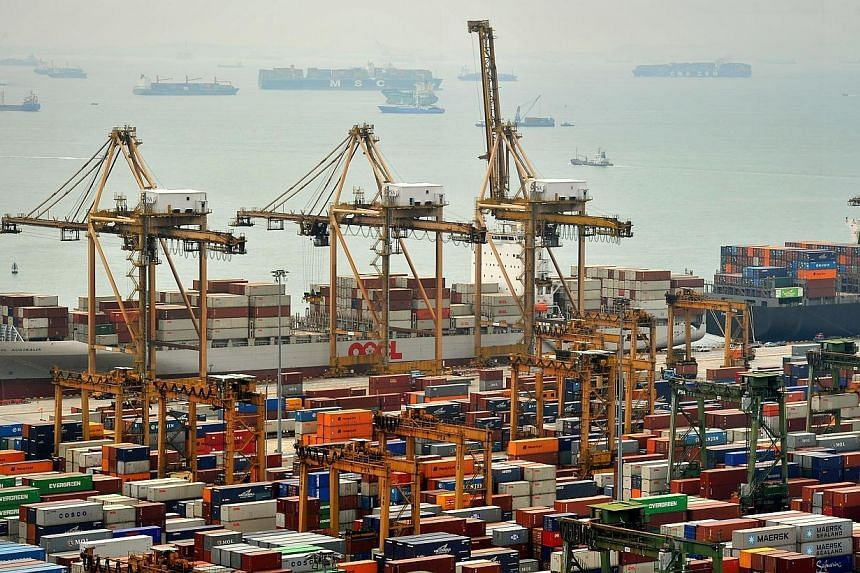 Singapore's domestic wholesale trade rose 5.1 per cent in the third quarter of this year compared to the same period a year ago, according to figures released by the Department of Statistics on Wednesday. -- ST FILE PHOTO:KUA CHEE SIONG