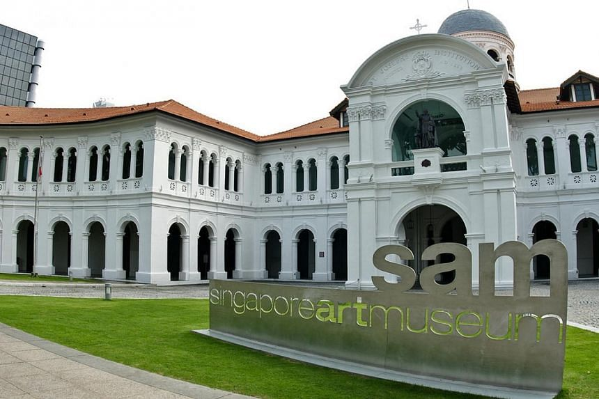 Exterior of Singapore Art Museum (SAM).The email addresses and phone numbers of as many as 4,000 people were taken from a data file on the Singapore Art Museum's (SAM) website, and illegally published and uploaded to a New Zealand-based server.