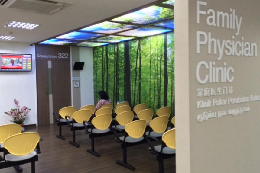 The largest Family Physician Clinic is based here at Singhealth's Tampines Polyclinic, which re-opened for business on Wednesday after a five-month revamp. -- ST PHOTO: RACHEL TAN