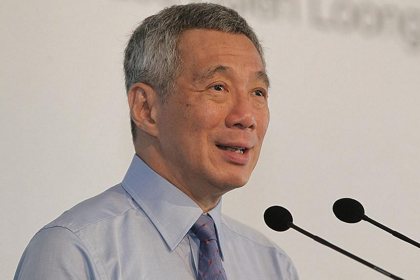 Citizens who wish to post on the website of the Government's feedback arm must log in and register, starting next month, Prime Minister Lee Hsien Loong said, on Friday, Nov 22, 2013. -- ST FILE PHOTO:MARK CHEONG