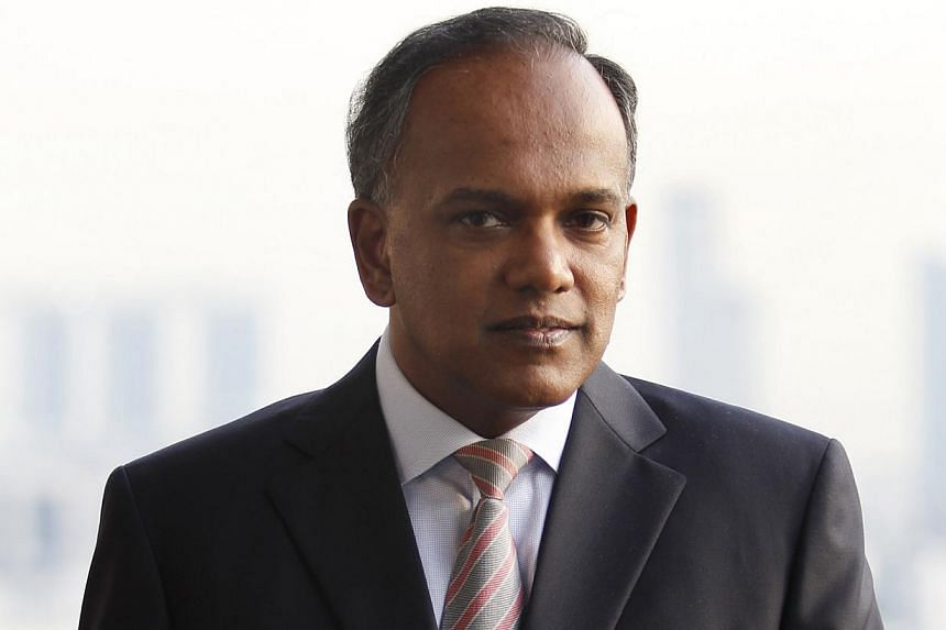 The Government is committed to helping the Malay community in Singapore, Law and Foreign Minister K. Shanmugam said yesterday. -- ST FILE PHOTO: TERENCE TAN
