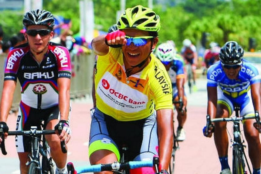 OCBC Singapore Pro Cycling Team's Loh Sea Keong has signed for Team Argos-Shimano, becoming the first South-east Asian to join a Union Cycliste Internationale (UCI) ProTour side. -- PHOTO:OCBC SINGAPORE PRO CYCLING TEAM