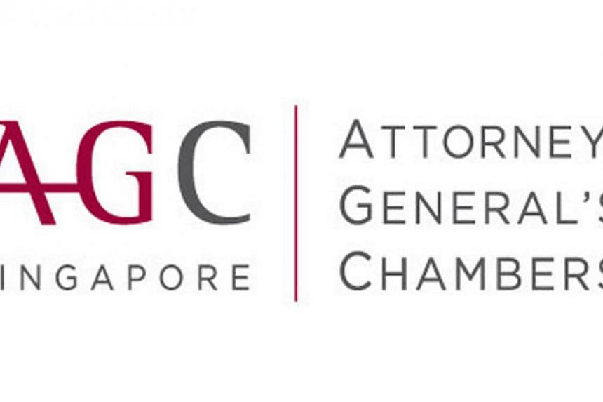 The Attorney-General's Chambers (AGC) will on Tuesday, Nov 26, 2013, seek the High Court's permission to launch a contempt of court action against blogger Alex Au Wai Pang. -- FILE PHOTO:ATTORNEY-GENERAL'S CHAMBERS