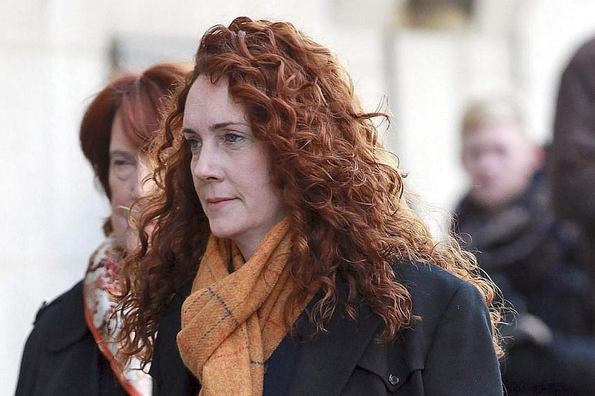 Former News International Chief Executive Rebekah Brooks arriving at the Old Bailey court in London as the trial on alleged phone hacking continues, on Thursday Nov 14, 2013. -- FILE PHOTO: AP
