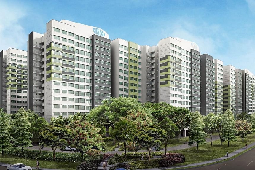 Artist's impression of Boon Lay View. The Housing Development Board (HDB) announced the launch of 8,952 flats for sale on Nov 26, 2013, in the largest joint Build-To-Order and Sale of Balance Flats exercise so far. -- PHOTO: HOUSING DEVELOPMENT BOARD