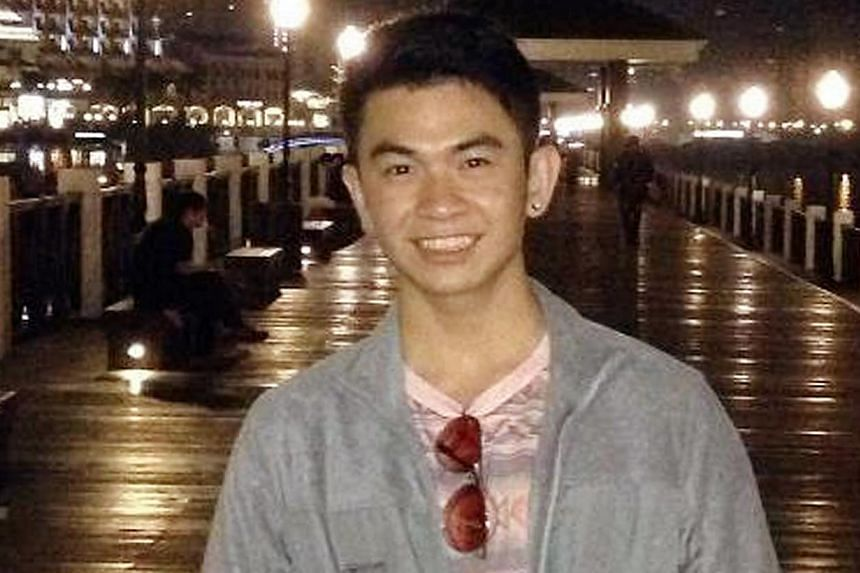 Search and rescue operations for Singaporean student Goh Chuan Kiet are still ongoing and will carry on into the third night since he disappeared at sea on Sunday. -- PHOTO: SIM