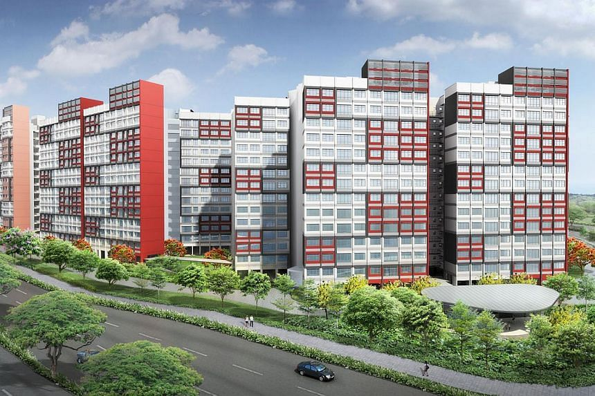 Artist's impression of West Ridges at Bukit Batok. The Housing Development Board (HDB) announced the launch of 8,952 flats for sale on Nov 26, 2013, in the largest joint Build-To-Order and Sale of Balance Flats exercise so far. -- PHOTO: HOUSING DEVE