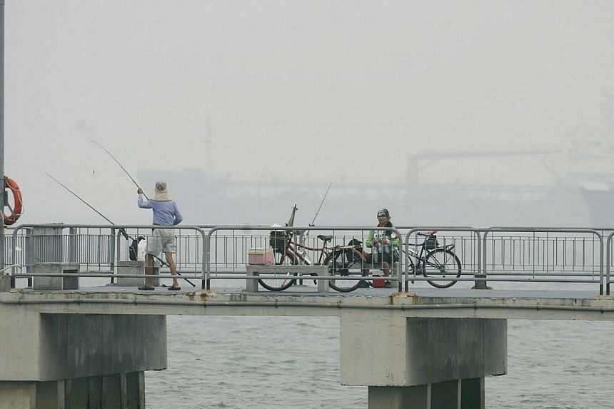 Bedok Jetty on Oct 16, 2006. The mother of the baby boy, whose body was found floating in the sea off Bedok Jetty on Monday, has been arrested over the death of the infant, said police in a statement on Tuesday. -- ST FILE PHOTO: CHEW SENG KIM