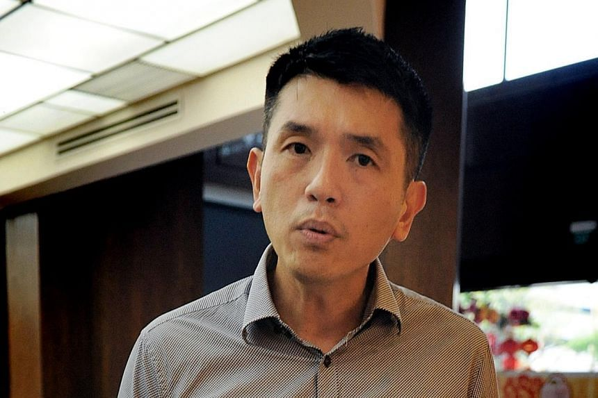 The High Court has struck out an application by former Robinsons employee Lawrence Bernard Wee Kim San to have discrimination against gay men declared unconstitutional.--TNP FILE PHOTO:JEREMY LONG