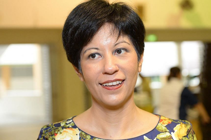 The list of members on the panel headed by Senior Minister of State for Education and Law Indranee Rajah (above) comprises several highly experienced legal professionals from the private and public sectors. -- ST FILE PHOTO: DESMOND WEE