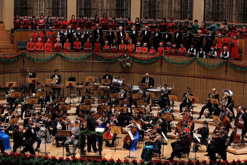 The Singapore Symphony Orchestra's Christmas concert 2012.A successfulHigh Court application by the Singapore Symphonia Company (SSC) has paved the way for its $25 million trust fund to be dissolved and the proceeds transferred to the Sin